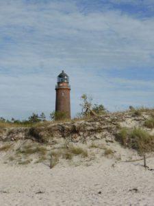 Foto des Leuchtturms Darßer Ort